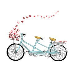bike clip art love - Google Search