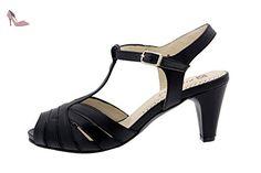 Chaussure femme confort en cuir Piesanto 2262 sandale habillé comfortables amples - Chaussures piesanto (*Partner-Link)