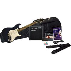 Silvertone Revolver Electric Guitar Package with Instructional DVD, Blue Image 1 of 1 Electric Guitar And Amp, Guitar Amp, Cool Guitar, Acoustic Guitar, Walmart Usa, Guitar Tuners, Bass Amps, Guitar Picks, Revolver