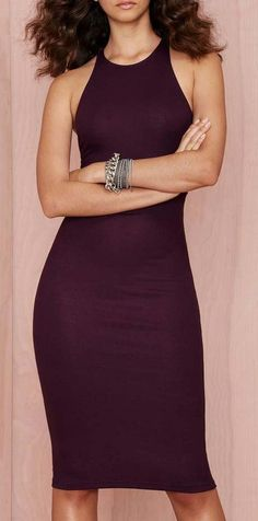Yes I want to look like this in a dress. After Party Vintage My Way Ribbed Dress