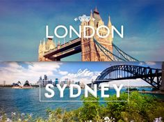 LONDON OR SYDNEY  Cual eliges?