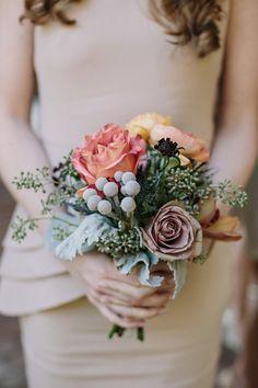 #brunia, #eucalyptus, #rose  Photography: Jonas Seaman Photography - jonas-seaman.com  Read More: http://www.stylemepretty.com/2014/06/16/autumn-wedding-with-shades-of-gold/