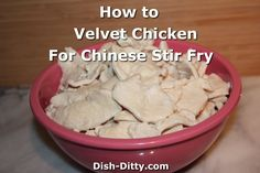 What is velveting chicken? It's a process where you pre-cook marinated chicken s. - What is velveting chicken? It's a process where you pre-cook marinated chicken so that when you u - Stir Fry Dishes, Stir Fry Recipes, Food Dishes, Cooking Recipes, Cooking Tips, Main Dishes, Apple Recipes, Velvet Chicken, Cooking Chinese Food