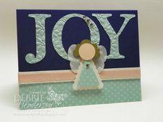 Debbie's Designs: Punch Art Angel of Joy!