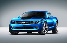 would love a blue camaro