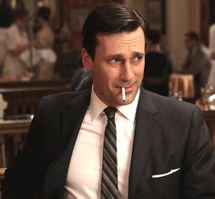 Jon Hamm Mad Men~ Don Draper, how's that Lucky Strike account? Jon Hamm, Don Draper Quotes, Mad Men Quotes, Life Quotes, Mad Men Don Draper, Skinny Ties, Esquire, Modern Man, My Man
