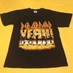 Tops - Def Leppard tour t-shirt