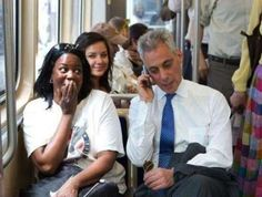Chicago mayor Rahm Emmanuel interrupts a woman's job interview over the phone to give his personal r... - imgur