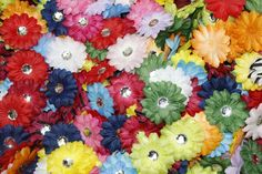 (100) in a Bag Soft Mini Daisy Flowers~2' 2 Inch Small Flowers Great for Craft Projects * To view further for this item, visit the image link.