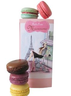Classic Macarons 6 Flavors -The Memories of Paris Gift Box By Leilalove - http://mygourmetgifts.com/classic-macarons-6-flavors-the-memories-of-paris-gift-box-by-leilalove/