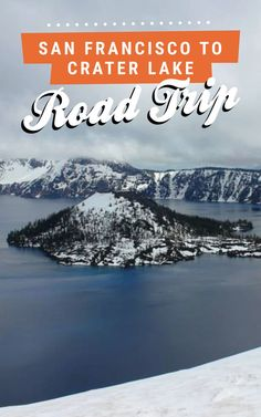 San Francisco to Crater Lake road trip! Find the full itinerary on Road Trippin' The States