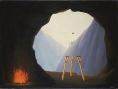 René Magritte La Condition Humaine, 1935
