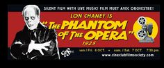The Mobs Press Events & Tickets is under construction Lon Chaney, Phantom Of The Opera, Silent Film, Live Music, Festivals, Campaign, October, Events, Content