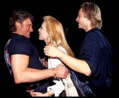 Johnny, Sylvie et David