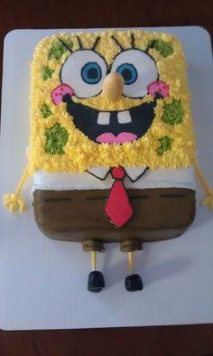 Sponge Bob cake my next birthday!!!
