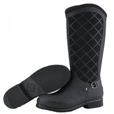 Love Muck boots! Keep your feet warm &amp dry and they hold up to