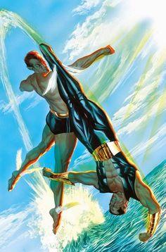Namor vs Namor by Alex Ross