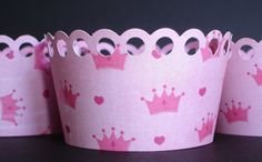 Princess cupcake wrappers $6.00 for 12