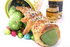 Monas de Pascua. Tradicionales pero hechas con Thermomix. Del fantástico blog Velocidad Cuchara.