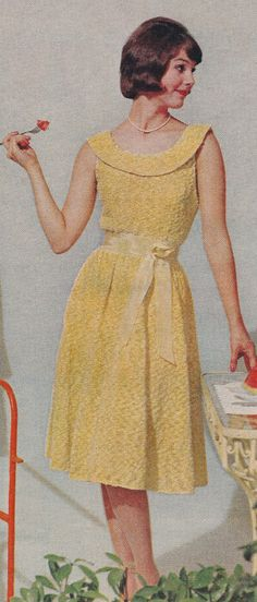 Vintage Fancy Formal Lace Party Dress Knitting Pattern