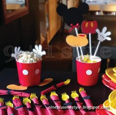 9+1style: Festa tema Topolino – Let's party with Mickey Mous...