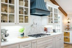 kitchen makeover ideas from fixer upper joanna gaines Brick -It Kitchen Faux Brick Wall in Small Kitchen