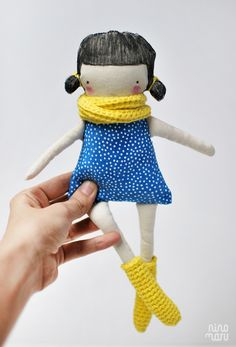Muñeca / Handmade Doll DIY by ninomaru