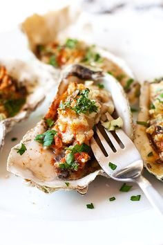 This is a super simple and absolutely delicious recipe. Oysters on the half shell are topped with Parmesan and garlic butter and baked until bubbly. Pre-heat oven to 400 degrees. In a micro wave place the butter in a micro safe dish along wit the garlic and cook until the butter has melted. Place the […]