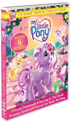 My Little Pony: Classic Movie Collection on DVD Review & Giveaway