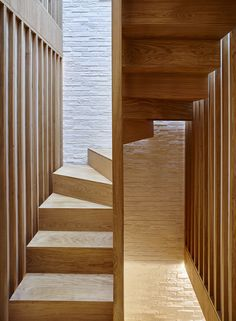 The client asked us to help them remodel their existing four-storey, slightly dilapidated mews house. London Mews House by Coffey Architects Small Staircase, Staircase Design, Staircase Diy, Staircase Remodel, Architecture Résidentielle, Futuristic Architecture, Japanese Tea House, Mews House, Modern Stairs