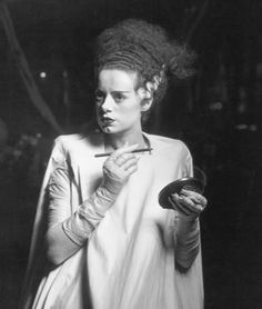 how's my hair? BRIDE OF FRANKENSTEIN (James Whale)