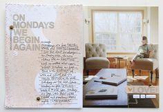 On Mondays by AliEdwards at @studio_calico