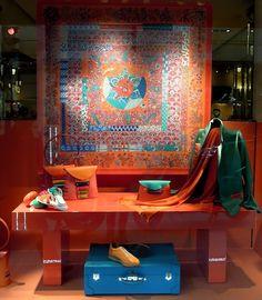 Hermès Paris window display
