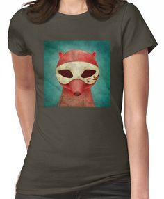 death as a fox in a mask Women's T-Shirt