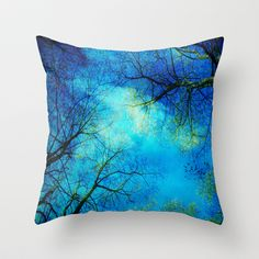 A new day Throw Pillow by Angela Bruno - $20.00