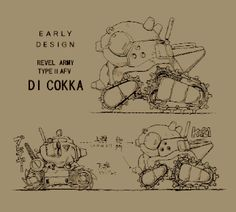 METAL SLUG .:. concept art Game Concept, Concept Art, Steampunk Mechanic, Tank Design, Futuristic Cars, Mechanical Design, Science Fiction Art, Cool Sketches, Cartoon Shows