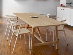 Rechteckiger Esstisch LEPIC | Rechteckiger Tisch by SCHIFFINI