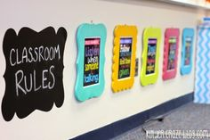 FAQ: All About My Classroom Rule Frames & Subway Art - Kinder-Craze