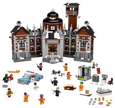 https://flic.kr/p/ML4t4R | The LEGO Batman Movie Arkham Asylum (70912) | Read more here: www.thebrickfan.com/three-new-the-lego-batman-movie-sets-...