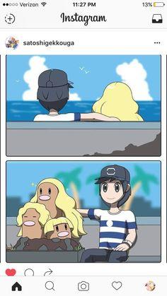 Couple goals Pokemon sun and moon