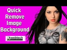 Here we are going to learn how to remove image background and save with transparent background, and fill background color, change background image. Change Background, Background Images, Photoshop Tutorial, Colorful Backgrounds, How To Remove, Words, Kitchen, Youtube, Picture Backdrops