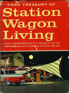 station wagon living - even diagrams how to pack!