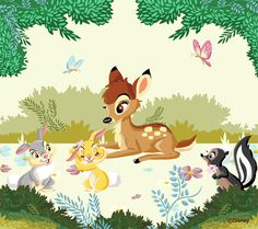 Bambi and Thumper - Bambi