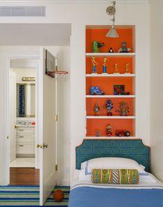 Tilton Fenwick Downtown Loft Boys' Bedroom photo: Trevor Tondro