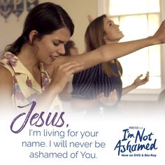 Comment 'AMEN!' if you are not ashamed! #ImNotAshamed Christian Films, Christian Life, Rachels Challenge, Rachel Scott, Youth Lessons, Born Again Christian, I Love The Lord, Godly Relationship, Great Love Stories