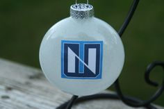 White Northwood University College/Team Glass by KaLiHandcrafted