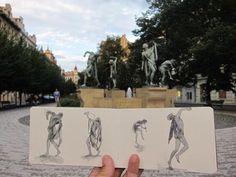 The Sketching Backpacker watercolors
