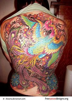 phoenix tattoo meaning and Designs For Men and Women (13)