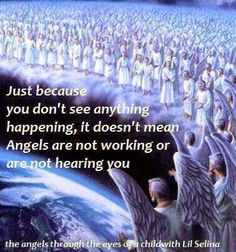 When you praise and worship God, it attracts God's holy angels. They fight the enemy on your behalf. The angels deliver answers from Heaven.