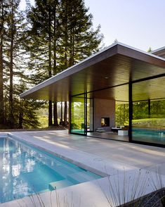 Sustainable glass dwelling in Sonoma County: Marra Road – Architecture Residential Architecture, Amazing Architecture, Contemporary Architecture, Interior Architecture, Contemporary Houses, Sustainable Architecture, Lobby Interior, Pavilion Architecture, Building Architecture